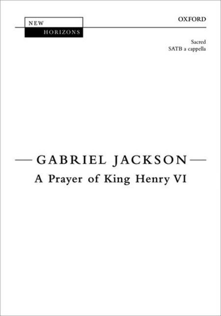 A Prayer of King Henry VI