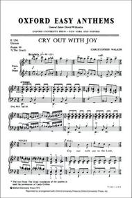 Cry out with joy