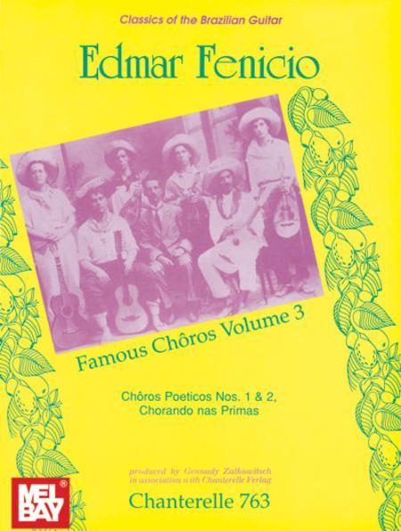 Edmar Fenicio: Famous Choros Volume 3