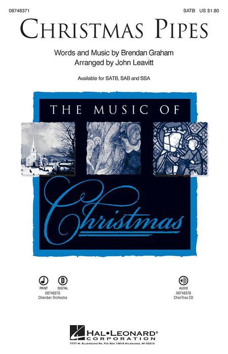 Christmas Pipes - ChoirTrax CD