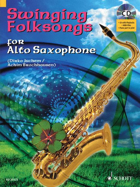 Swinging Folksongs for Alto Saxophone
