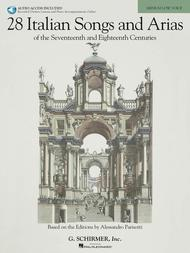 28 Italian Songs & Arias of the 17th & 18th Centuries - Medium Low, Book/Online Audio