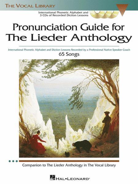 The Lieder Anthology - Pronunciation Guide