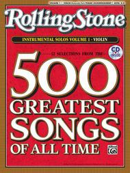 Selections from Rolling Stone Magazine's 500 Greatest Songs of All Time (Instrumental Solos for Strings)