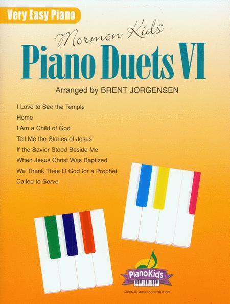 Mormon Kids Piano Duets VI