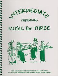 Intermediate Music for Three, Christmas - Keyboard/Guitar