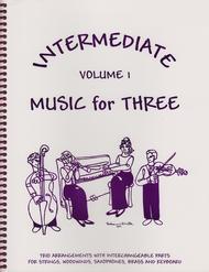 Intermediate Music for Three, Volume 1, Part 2 - Flute/Oboe/Violin