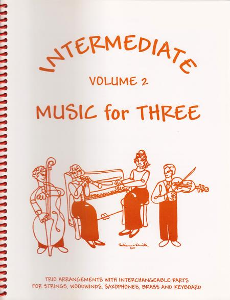 Intermediate Music for Three, Volume 2, Part 1 - Flute/Oboe/Violin