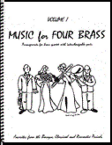 Music for Four Brass, Volume 1 - Keyboard/Guitar