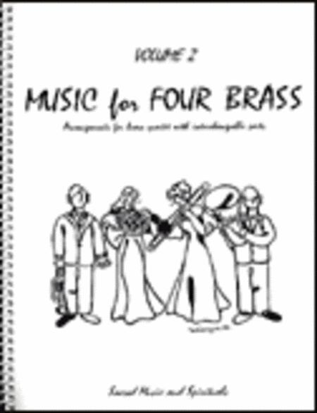 Music for Four Brass, Volume 2, Part 1 - Bb Trumpet