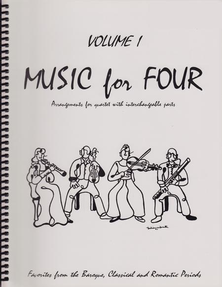 Music for Four, Volume 1, Part 2 -Flute/Oboe/Violin