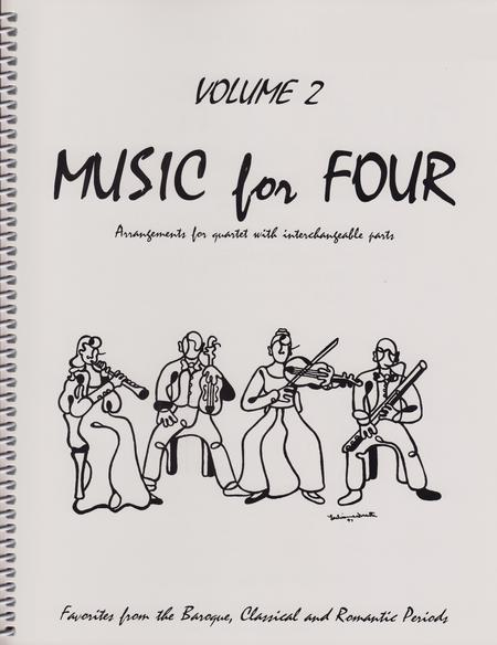 Music for Four, Volume 2, Part 2 - Flute/Oboe/Violin