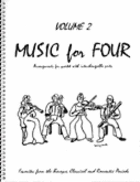 Music for Four, Volume 2, Part 3 - Viola