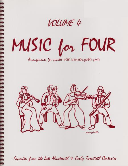 Music for Four, Volume 4, Part 4 - Cello/Bassoon