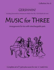 Music for Three, Collection #6 - Gershwin!