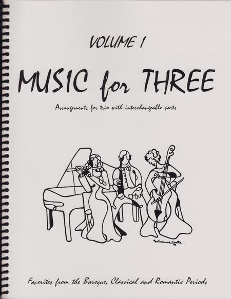 Music for Three, Volume 1 - Keyboard/Guitar