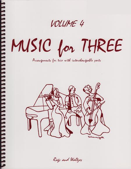 Music for Three, Volume 4, Part 3 - Cello/Bassoon