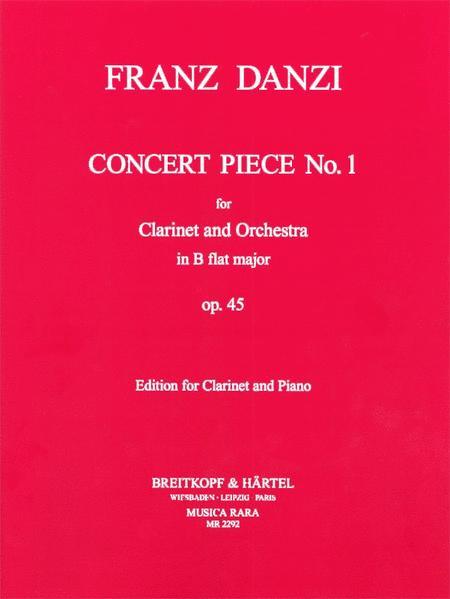 Concert piece No. 1 in Bb major Op. 45