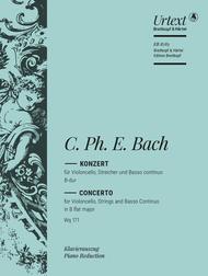 Cellokonzert B-dur Wq 171