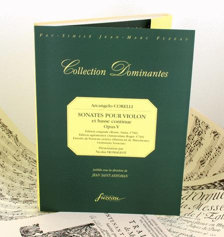 Sonatas for violin and continuo Opus V. Ornamented edition