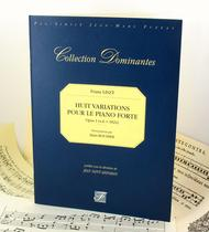 Eight variations for the fortepiano. Opus I. 1824