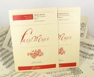 Three duos for two clarinets Opus 5