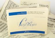 Six preludes and fugues for the Harpsichord or Fortepiano