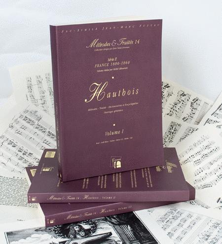 Methods & Treatises Oboe - 3 volumes - France 1800-1860
