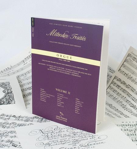 Methods & Treatises Organ - Volume 2 - France 1600-1800