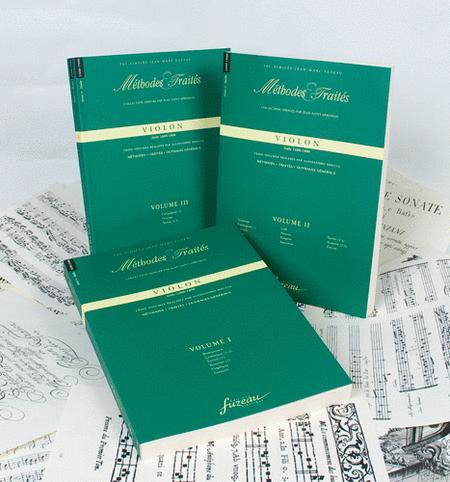 Methods & Treatises Violin - 3 Volumes - Italy 1600-1800
