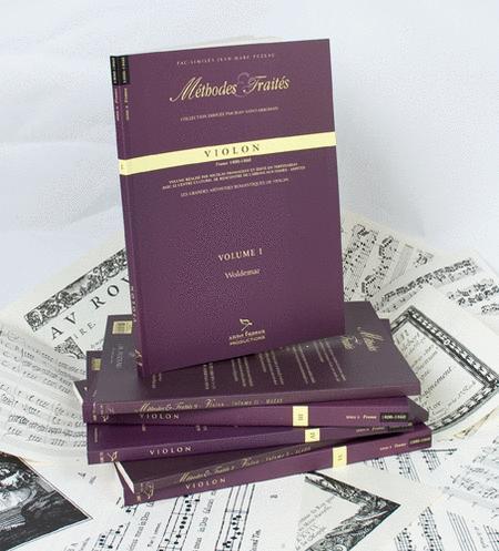 Methods & Treatises Violin - 6 volumes - France 1800-1860