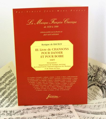 III  Book Of Drinking And Dancing Songs Sheet Music By Benigne (De