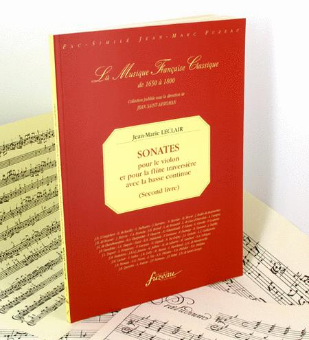 Second book of sonatas for the violin and for the flute with continuo bass