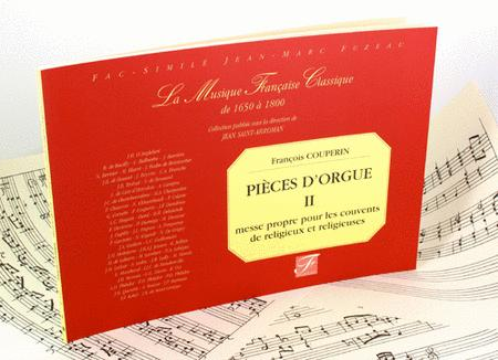 Organ pieces consisting of two masses. Mass proper for organ