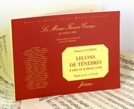 Lecons de tenebres for one and two voices