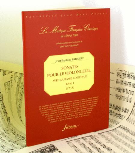 Sonatas for cello and continuo bass Book I - Cello