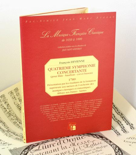 Fourth symphonie concertante for flute, oboe, horn and bassoon
