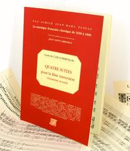 Caix d'Hervelois Opus 6 containing four suites for flute with continuo Volume 3 Flute continuo