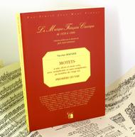 Motets for one, two and three voices, with and without symphonie - First book