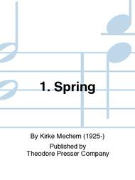 Five Centuries of Spring: Spring