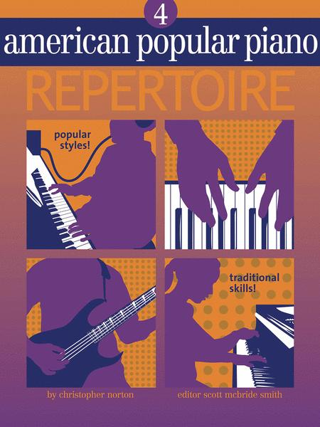 American Popular Piano Repertoire - Level 4 (Book/CD)