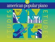 American Popular Piano Etudes - Preparatory Level