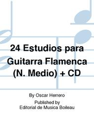 24 Estudios para Guitarra Flamenca (N. Medio) + CD