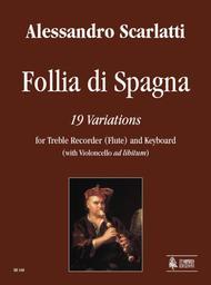 Follia di Spagna. 19 Variations