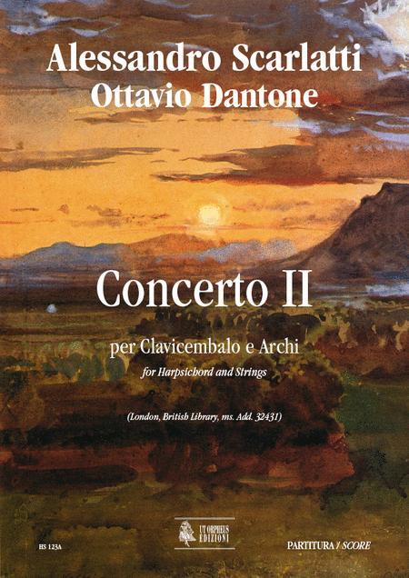 Concerto II (London, British Library, ms. Add. 32431)