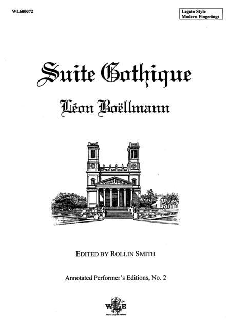 Suite Gothique, Op. 25