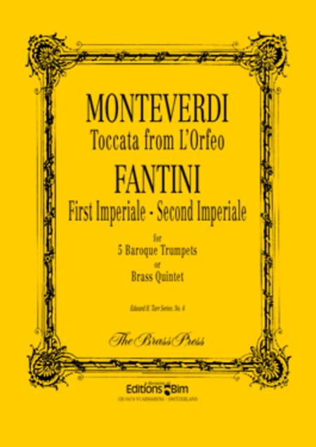 Toccata from Orfeo (and 1st /2nd Imperiale)