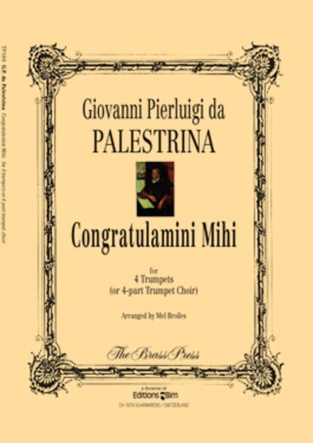 Congratulamini Mihi