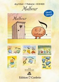 Postkarten Set 1 Malheur