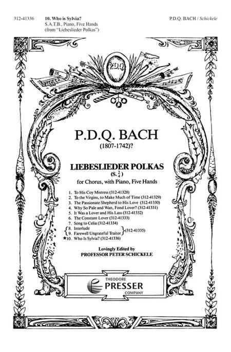 Liebeslieder Polkas: Who Is Sylvia?